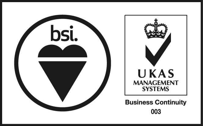 BSI BCM UKAS Logo - Sample