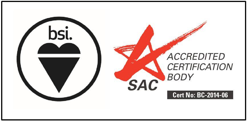 BSI SAC Logo - Sample